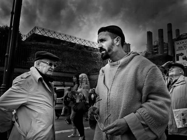 Street Drama Italy