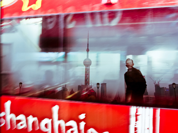 Reflecting Shanghai